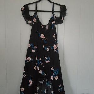 Xhilaration Floral Romper Dress NWT